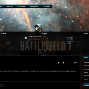 Neues Layout 2.0